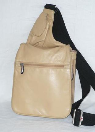 Travelon кожаная сумка органайзер трансформер длинная ручка кросс боди