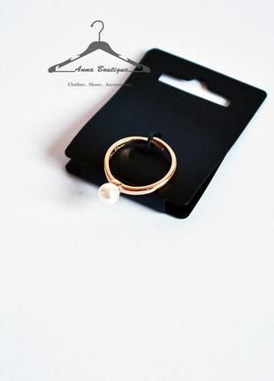 Элегантное позолоченное кольцо pilgrim