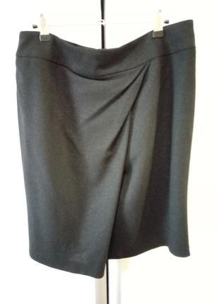 Эффектная юбка globus essentials италия, шерсть