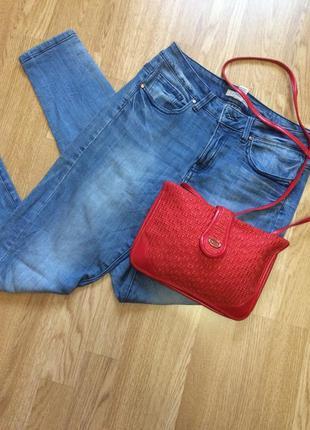 Крутая красная сумка accessorize,сумочка кросс-боди+подарок ремешок