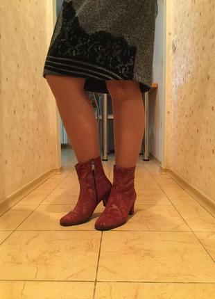 Ботиночки полусапожки кожаные fellini