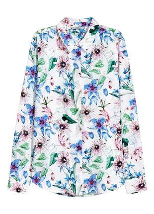 Блуза h&m в принт