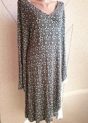 Плотное платье большой размер
