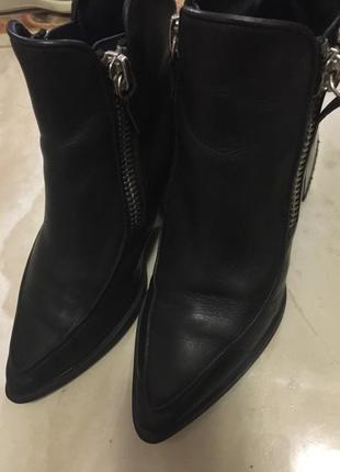 Ботинки кожа zara 37р