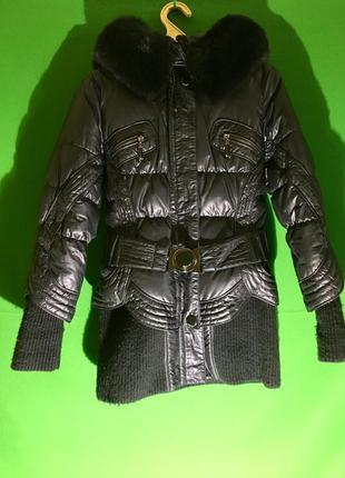 Куртка - пуховик, брендовая, mirage• mv ( casual collection).