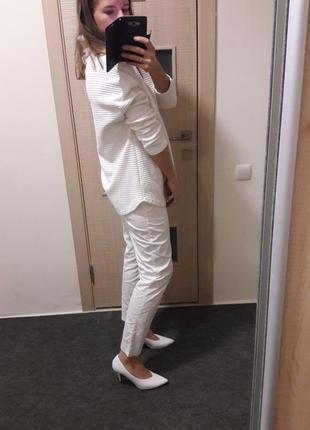 Идеальные белоснежные белые брюки3