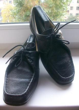 Туфли женские натуральная кожа hotter р.39