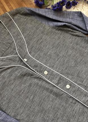 🌹акция 2=3 🌹100% коттон! стильная джинсовая рубашка от asos5