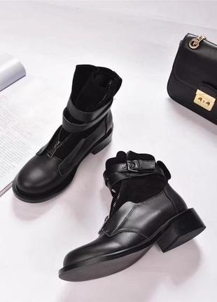 Крутые и стильные ботинки осень 2018
