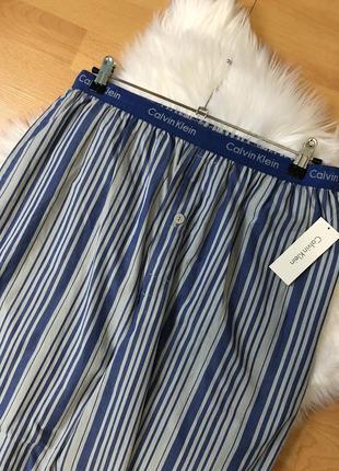 Штаны пижамные calvin klein оригинал с биркой пижама