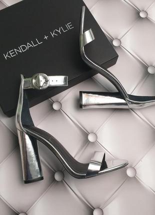 Kendall + kylie оригинал стильные вечерние босоножки на широком каблуке из сша