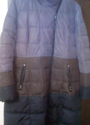 Зимнее стильное куртка-пальто