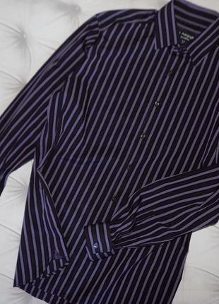 Современая стильная мужская рубашка с запонками2 фото