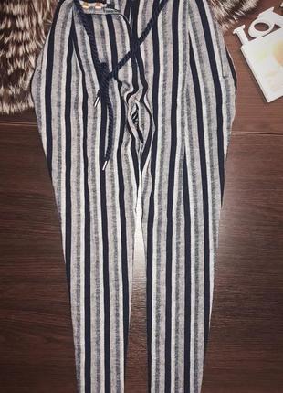 Актуальные брюки на высокой талии от marks&spencer