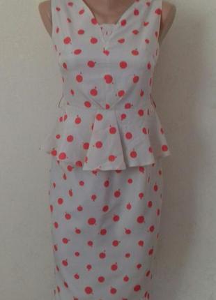 Элегантное платье с принтом next