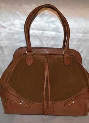 Замшевая сумка max mara, оригинал