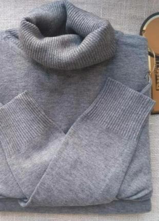 Гольф милано водолазка теплый свитер шерсть