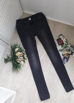 Графитовые джинсы м-л(12)activewear