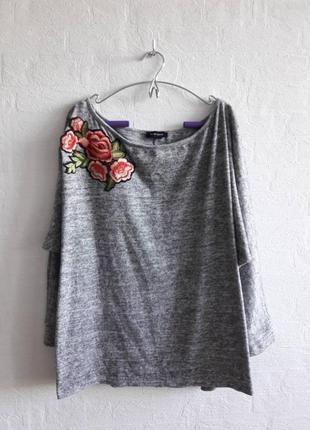 Стильный свитшот, свитерочек , бренда new look , подойдет на 50,52 р.