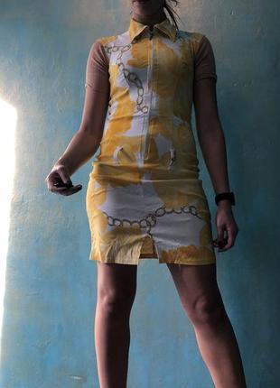 Платье трикотажное с утяжкой