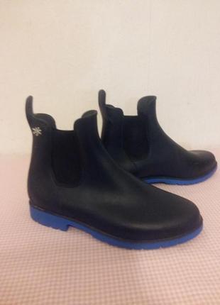 Резиноыые ботинки челси франция