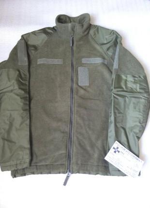 Кофта куртка флисовая армейская военная новая