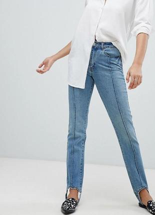 Стильные джинсы размер l
