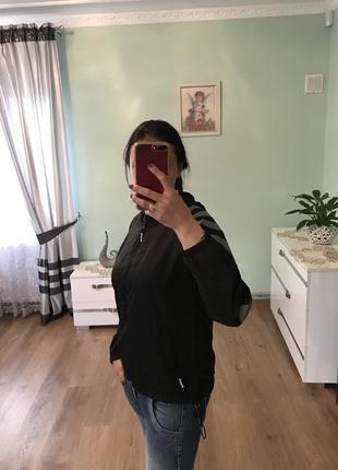 Куртка з еко шкіра2 фото