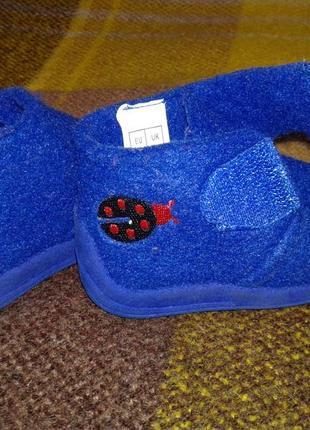 Тапочки/ботиночки из войлока. 17 размер.