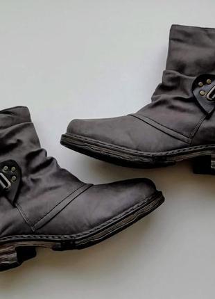 Зимние ботинки  rieker, размер 41