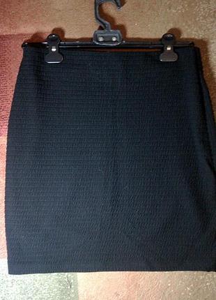 Чёрная юбка marks&spencer