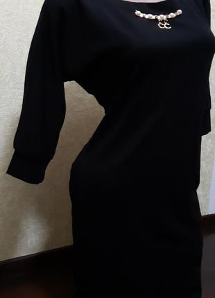 Платье черное со змейкой5