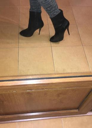 Зимние теплые кожаные ботинки, сапоги paolo conte, стелька 25,5 см