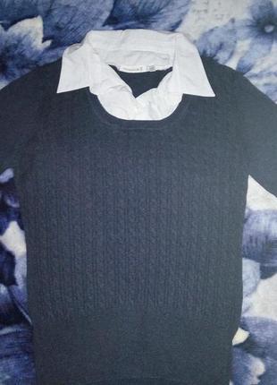 Рубашки-обманки 40-44 розмір