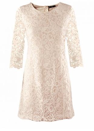 Очень красивое кружевное платье h&m
