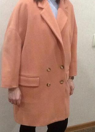 Пальто оверсайз шерсть кашемир