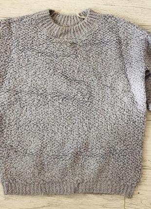 Красивый лиловый свитер барашек от atmospere 8