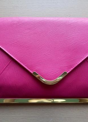 c8fdbdf85645 Яркий розовый клатч asos, новый! ASOS, цена - 280 грн, #1957642 ...