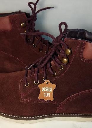 Распродажа!casual германия оригинал замшевые кожа ботинки 40,41,45 размер