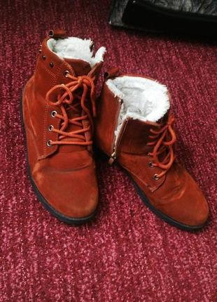 Ботинки рыжики