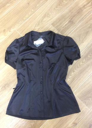 Блуза новая черная
