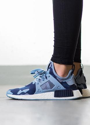 "Оригинальные кроссовки adidas nmd_xr1 ""duck camo pack"" midnight grey art ba7754"