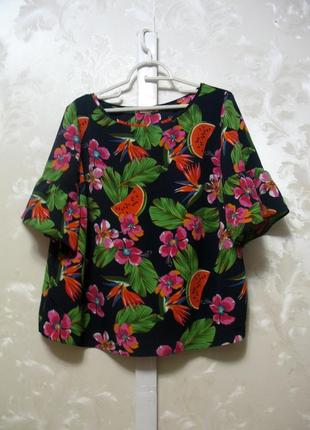 Шикарная блуза papaya большой размер