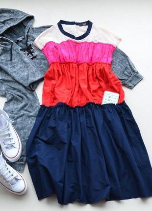 Шикарнейшее шелковое  платье дорогого бренда stefen schraut
