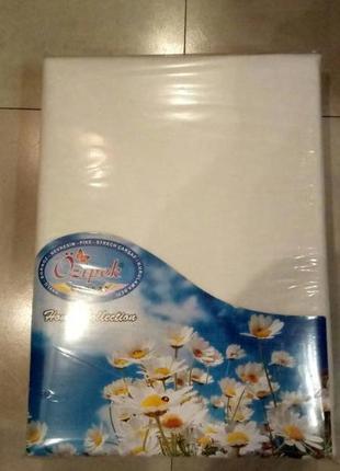 Плотные махровые простыни на резинке premium(много расцветок)