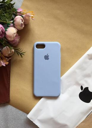 Чехол silicone case на iphone 7