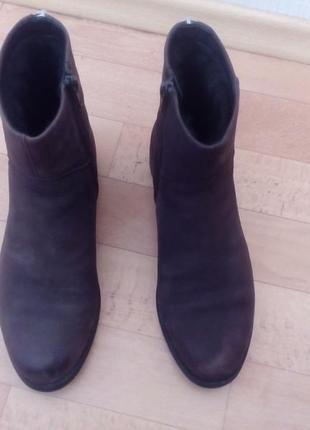 Ботинки vagabond, тёплые,кожаные.