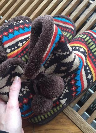 Трикатажные валеночки/ботинки на меху