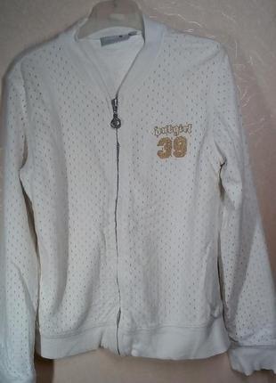 Спортивная кофта-куртка на рост 152
