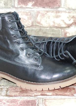 Черные зимние женские высокие ботинки кожаные берцы утепленные мехом 36-41  размеров f676ea086ac25